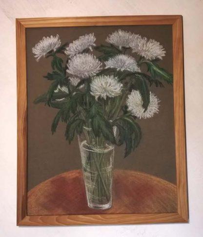 """Картина """"Воздушные хризантемы"""""""