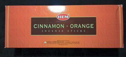 запах апельсина с корицей