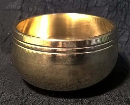 металлическая индийская чаша