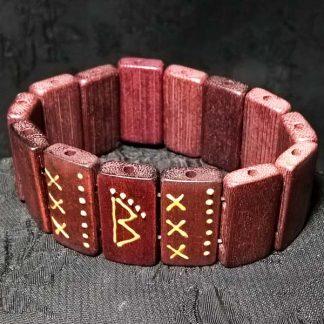 рунный браслет-талисман