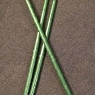 Восковые зеленые свечи