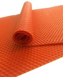 Оранжевая натуральная вощина