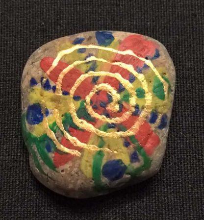 """Талисман """"Спираль удачи"""" из камня"""