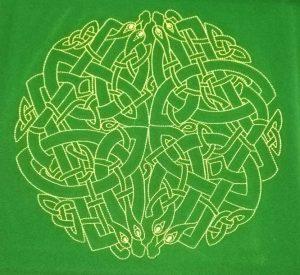 """Скатерть для гадания """"Кельтский лабиринт"""""""