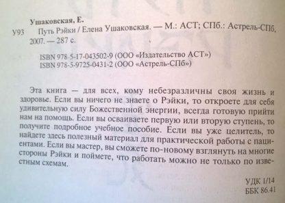 """Аннотация к книге """"Путь Рейки"""""""