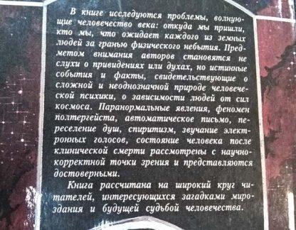 """Аннотация к книге """"После жизни"""""""