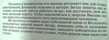 """Аннотация к книге """"Звезда защиты и денежный талисман"""""""