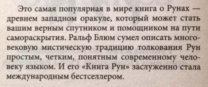 """Аннотация к книге """"Книга рун"""""""
